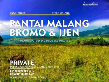 Paket Wisata Pantai Malang Bromo Ijen 3H2M