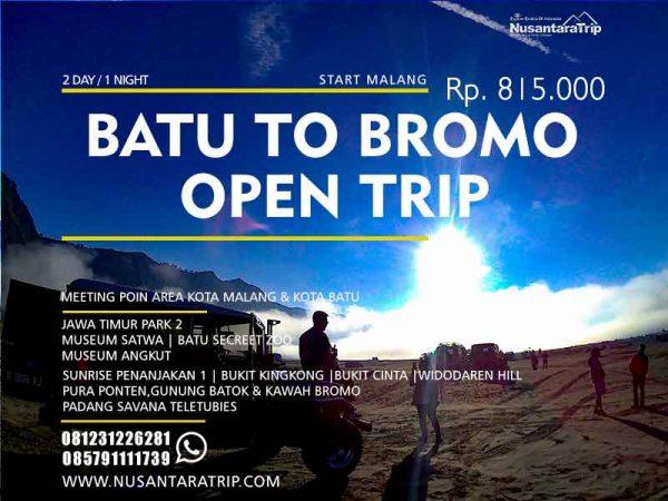 Open Trip Batu Bromo 2 Hari