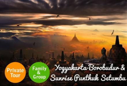 Paket Wisata Jogja Borobudur Sunrise Punthuk Setumbu