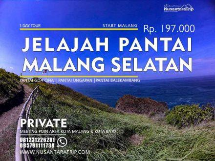 Paket Wisata Pantai Malang Selatan 1 Hari