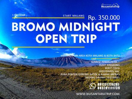 Open Trip Bromo Midnight-Paket Wisata Bromo