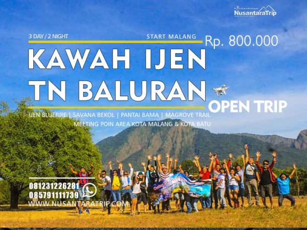Open Trip Ijen Baluran-Paket WIsata Ijen Baluran