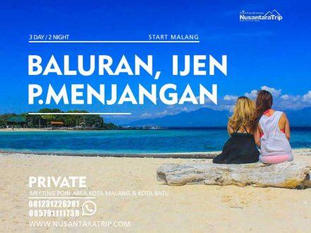 Paket wisata Baluran Ijen Menjangan Banyuwangi 3H2M
