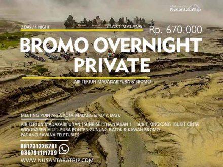 overnight tour bromo