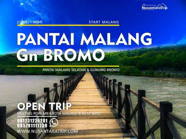 Open Trip Pantai Malang Selatan Bromo