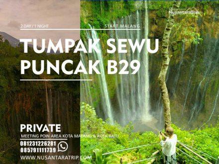 Paket wisata Tumpak Sewu B29 Lumajang