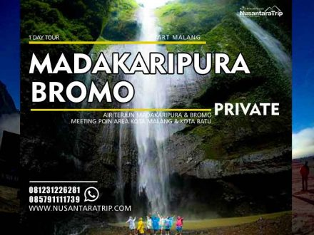 Paket Wisata Air Terjun Madakaripura Bromo