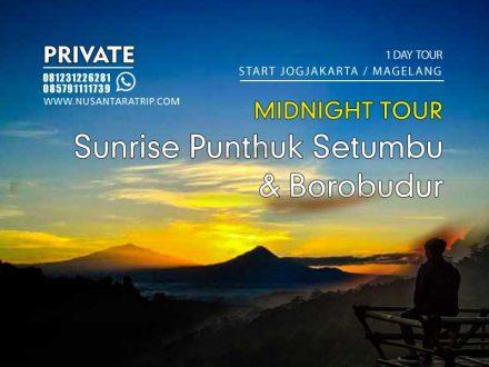 Paket Wisata Sunrise Punthuk Setumbu & Candi Borobudur 1 Hari