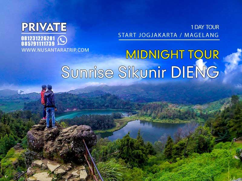 Paket Wisata Sunrise Sikunir Dieng Midnight Tour 1 Hari