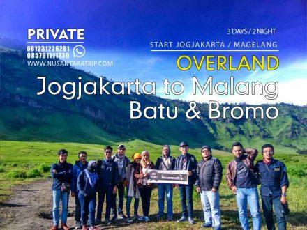 Paket Tour Batu Bromo Start Jogjakarta Overland 3H2M