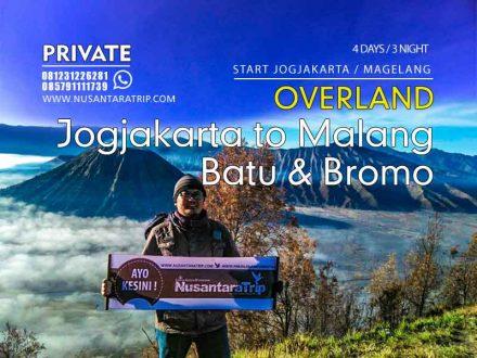 Paket Tour Malang Bromo Start Jogjakarta